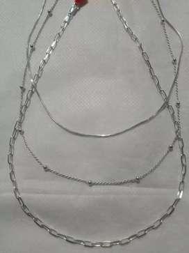 Vendo joyas de plata 925-950