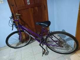 Bicicleta Mountain Bike 18 velocidades
