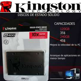 Discos de estado sólido kingston
