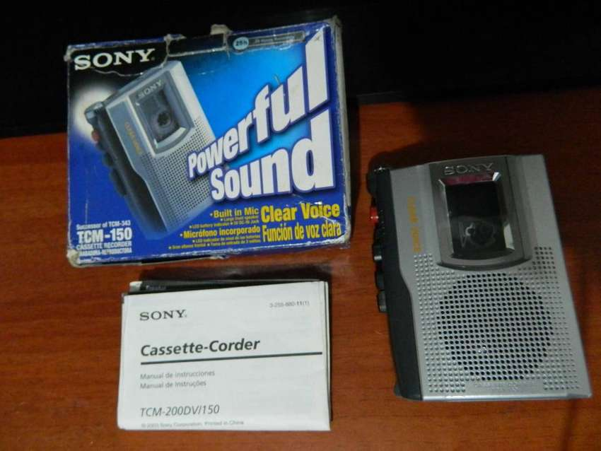 Grabadora De Voz Sony De Cassette 0