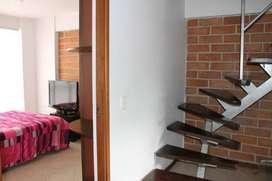 Apartamento amoblado de dos