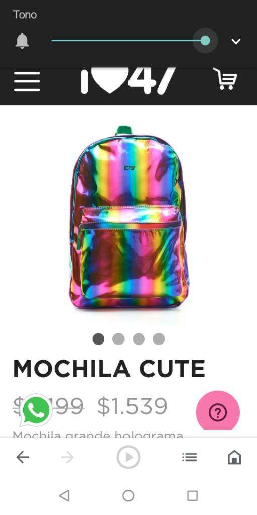 Mochila Cute 47 Th Street 0