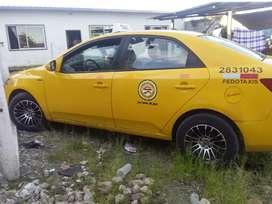 Vendo puesto de taxi con carro