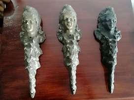 Apliques en bronce antiguos