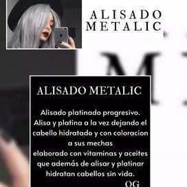 Alisado METALIC