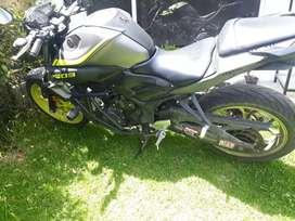 De venta moto yamaha Mt 03 como nueva a toda prueba único dueño