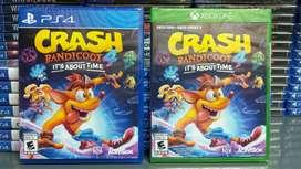 Crash bandicot 4 para ps4 y one
