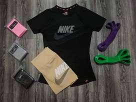 Promoción conjuntos deportivo short + blusa