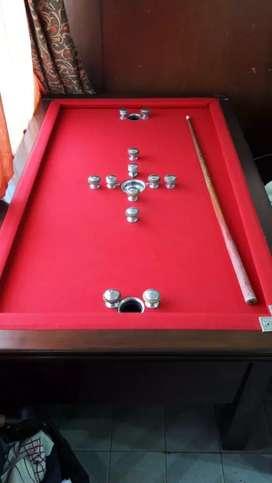 Billargol pool mesa de  billar  antiguo retro intacto! Incluye bolas.