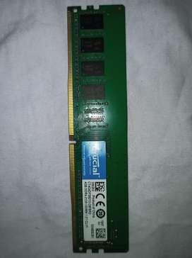 Memoria Ram crucial 4GB DDR4 2133MHz