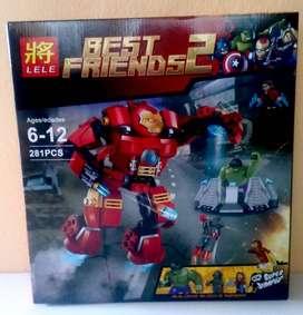 Bloques de construcción tipo lego Iron Man