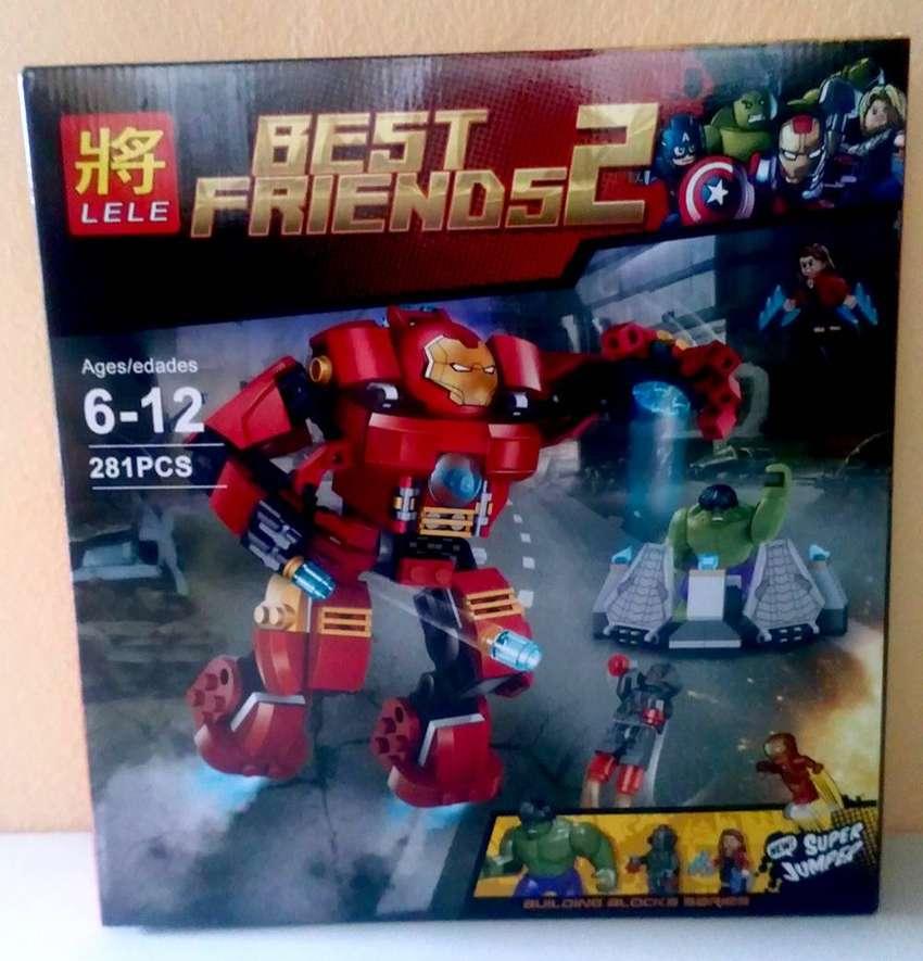Bloques de construcción tipo lego Iron Man 0