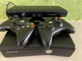 Xbox 360 + Kinect + 2 controles + juegos