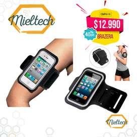 estuche de brazo para celulares smartphones ejercicio