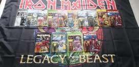 Iron Maiden figuras ReAction