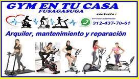 arquiler, mantenimiento y reparacion de equipos de gimnasio