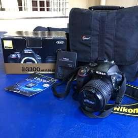 Nikon D3300 Cámara Reflex Profesional