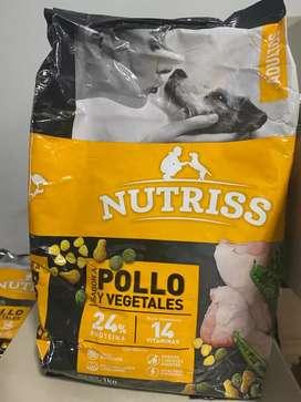 NUTRISS ADULTO X 1 KG X 20 UND