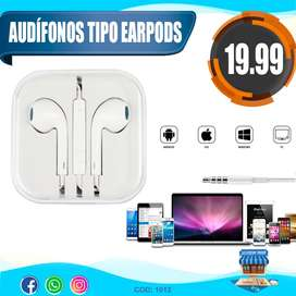 Audífonos Iphone 6 5 tipo Earpods Apple