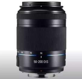 Lente Samsung nx 50-200mm