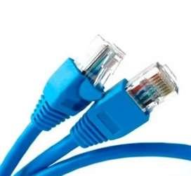 Cable de red de 3mts
