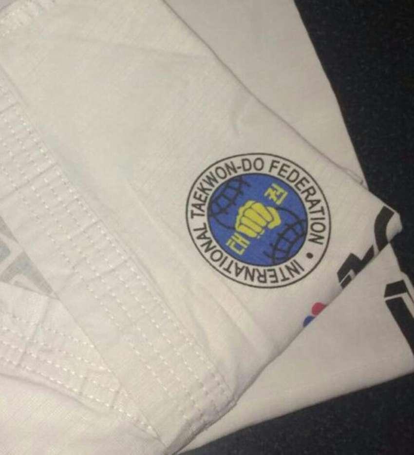 Uniforme Dobok Taekwondo Itf 0