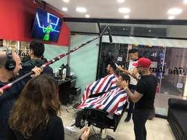 Vendo fondo de comercio de barberia