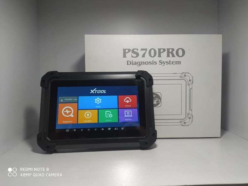 Scanner automotriz multimarcas  XTOOL PS70 PRO somos distribuidor entrega inmedita