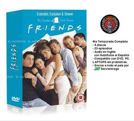 Friends 4ta Temporada Completa