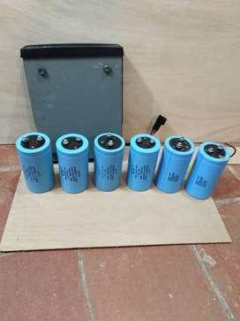 Condensadores de gran capacidad