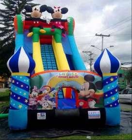 Recreacion para fiestas infantiles y eventos empresariales. Saltarines