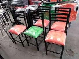 mobiliario mesas y sillas para bar, restaurante, cafeteria, fruteria y negocio en general