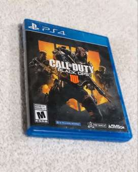 Juego play 4 call ofduty 4 (black ops)