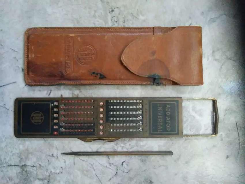 Vendo calculadora antigua de colección