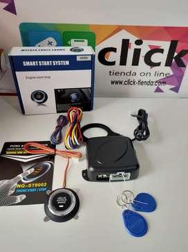 Botón de encendido de auto con inmovilizador electrónico