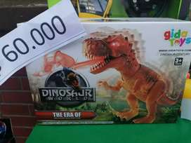 Dinosaurios y Dragon  robot
