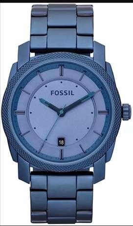 Reloj fosil azul 4707