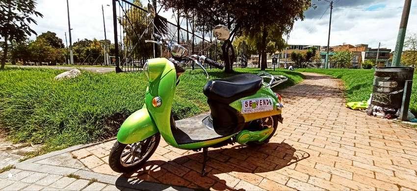 Bicicleta electrica - scooter - Vespa