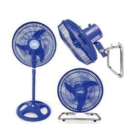Ventilador 3 En 1 Kalley Azul - K-v40