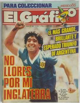 Revista El Gráfico - No Llores Por Mi Inglaterra - N3481