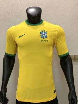 Camiseta local de brasil 2020 versión jugador