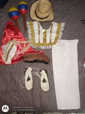 Vestido sanjuanero