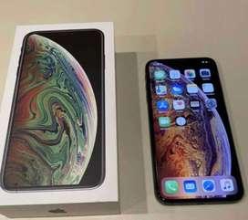 Iphone XS MAX DE 256 gb color blanco estado general 9/10