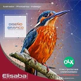 Curso Diseño Gráfico (Certificación) en Quito 100% Presencial Elisaba School