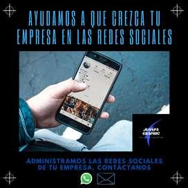Manejo de Redes Sociales para empresas