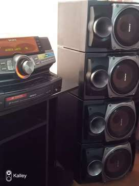 Equipo de sonido marca Sony