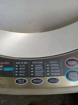 Vendo lavarropas sanyo jet automatico
