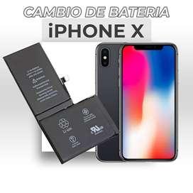 ¡Cambio de Batería Iphone X!