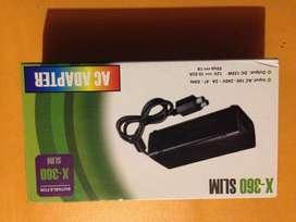Fuente Transformador Xbox 360 Slim Nueva, Original en Caja - Liquido a mejor oferta