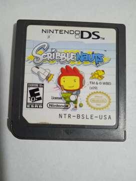Scribblenauts para nintendo DS